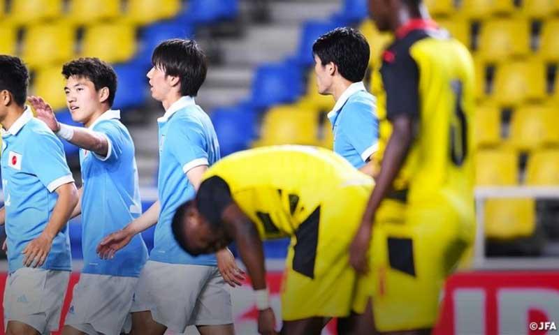 WATCH HIGHLIGHTS: Japan 6-0 Black Meteors - Footy Dreams